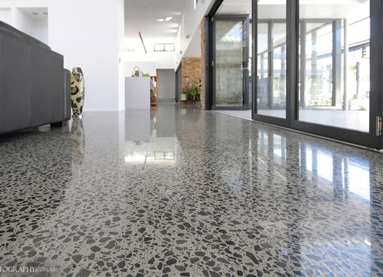 Indoor Residential Concreting Benefits Mcginn Concrete