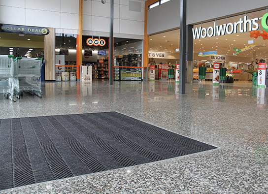 Commercial Concrete Woolworths Shopping Centre
