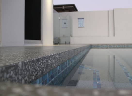 Concrete around Pool