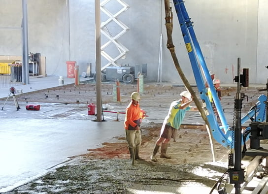 McGinn Commercial Concrete Slab