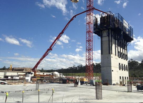 McGinn Industrial Concrete Slab
