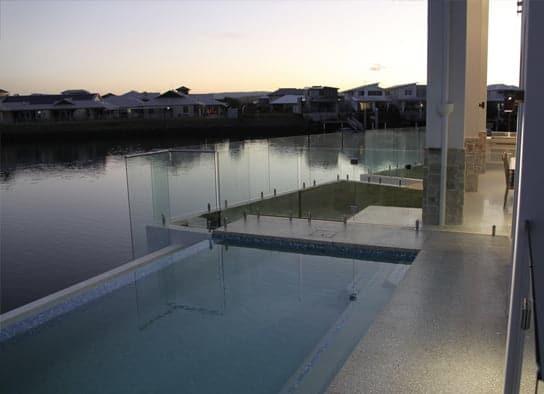 Outdoor Concreting Around Pool