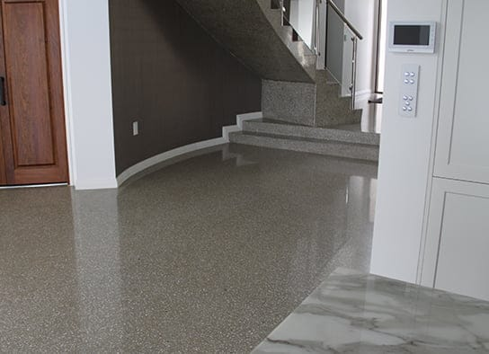 Grey Indoor Polished Concrete