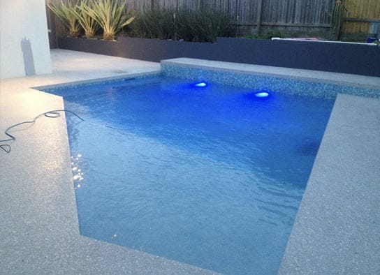pool side concrete