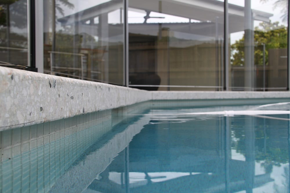 Wavell heights project - concrete pool surrounds
